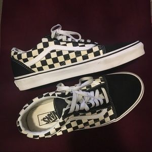 Vans Checkerboard Old Skool Sneakers